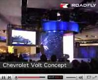 Reveal of the Chevy Volt at 2007 Detroit auto show